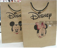 Custom mickey mouse gift bags wholesale