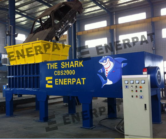Used car shredder for sale with CE