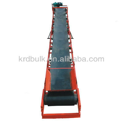 Oil Resistant Belt Conveyor system