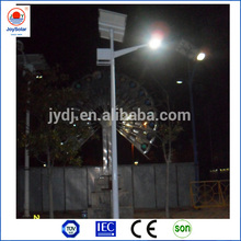 Light and time control 100W LED solar street light with led lamppost