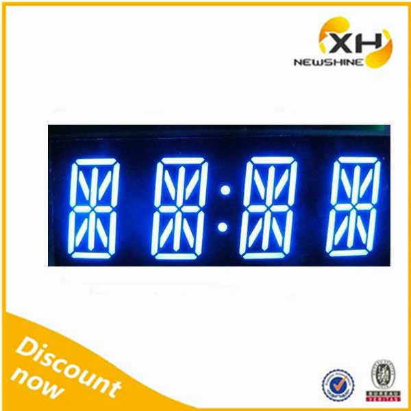 Free Sample FND DIP Multicolor 0.54 Inch Red Blue 4digits alphanumeric 14 segment led display