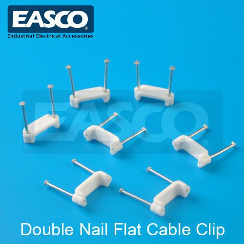EASCO Plastic Wall Cable Clip