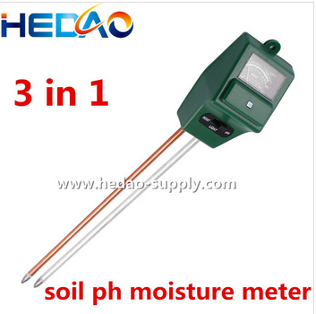 3 in 1 Plant Flowers Soil PH Tester/Moisture Meter /Light Meter Relative Humidity Sensors