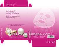 Pearl Invisible Silk Mask/pear essence 2013personal skincare/strong whitening nourishing effect/best seller/new extrat technolog