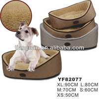fleece dog bed /pet bed/ dog house (New design)