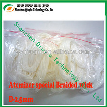 2014 Hot selling ekowool silica wick for e-cigs wick