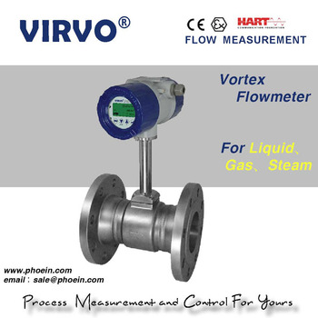 flange type digital vortex flow meter/steam flow meter