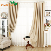 2016 Hot Sell Thermal Insulated Blackout Window Curtains Wholesale