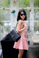 China Manufacturer New Fashioned Luxury Spring Cotton sexy galleries girls mini skirt mini dress