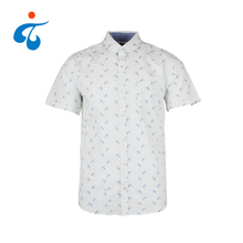 Made in China custom floral latest print casual shirts designer
