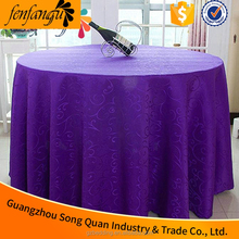 Alibaba supplier embroidered flower design hotel linen table cloth
