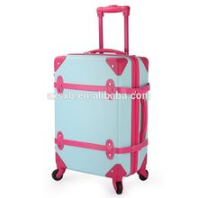 Hot selling OEM design durable abs travel trolley luggage bag for girls