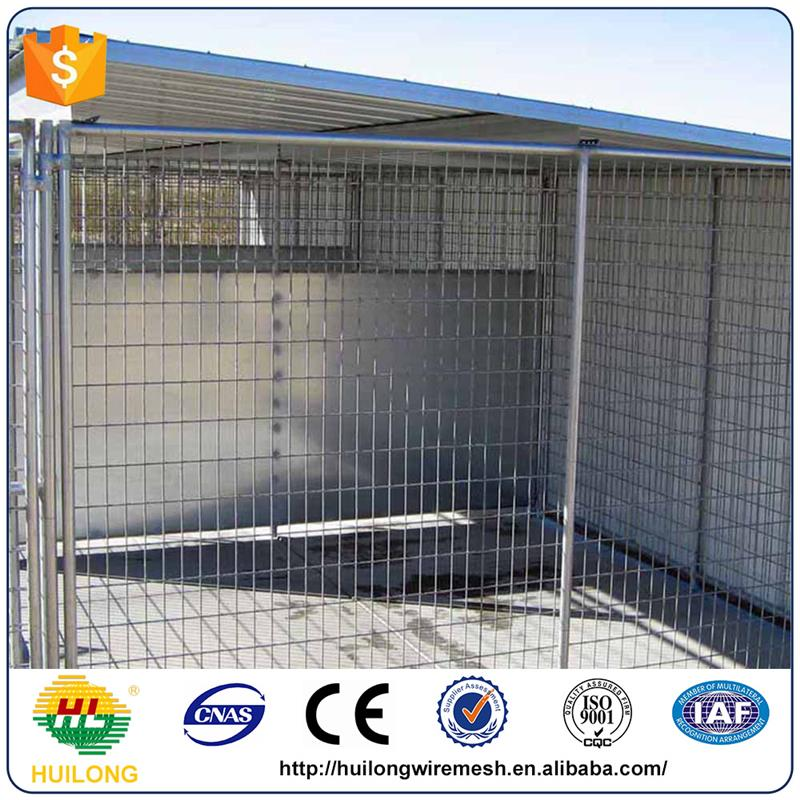 Alibaba 1.5x3.0x1.8mx3 runs dog house steel structure dog runs Huilong factory directly