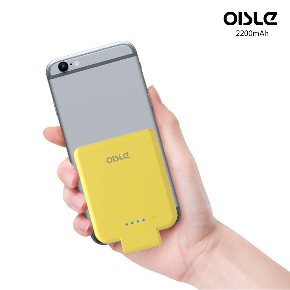 OISLE 2200mAh Palm-Sized Battery Case Factory Price Power Bank for Apple iPhone