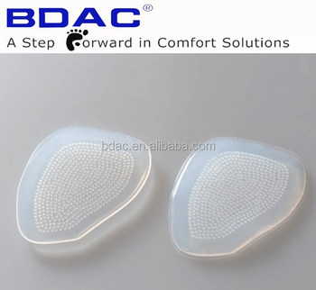 soft medical silicone metatarsal pad anti slip silicon toe protector