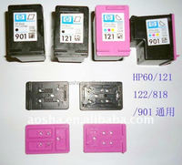 Factory Supply Remanufactured Ink Cartridge Replace refill Cap for HP 301BK and Color Cartridges