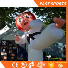 Hot sale inflatable taekwondo boy in Advertising Inflatables