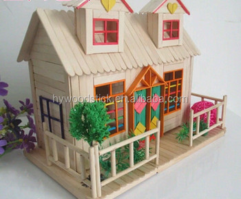 ISO9001:2008 Safe for Kids House Craft Popsicle Stick