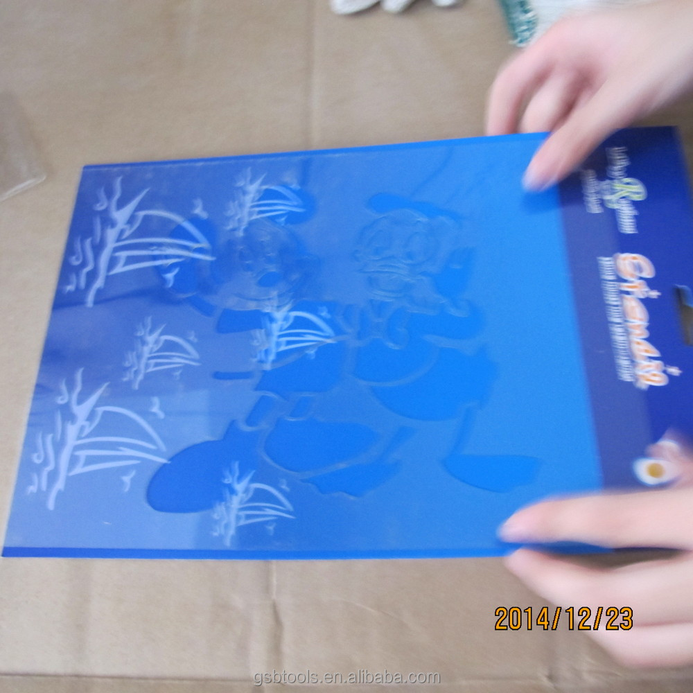 Plastic Drawing Stencil