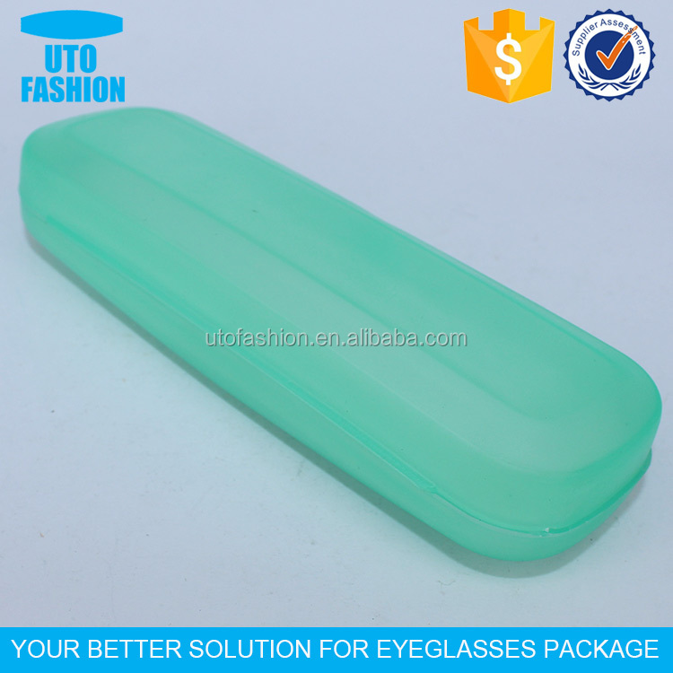 YT8021 Cheap clear plastic optical glasses case