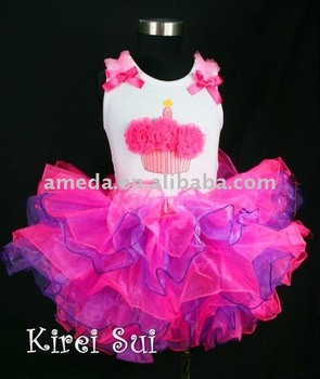 Hot Pink Purple Layered Tutu 254