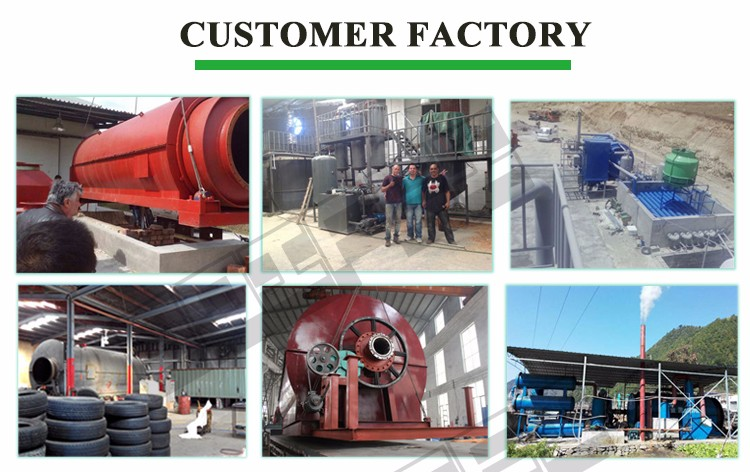 Automatic High Efficiency Continuous waste tires pyrolysis machine