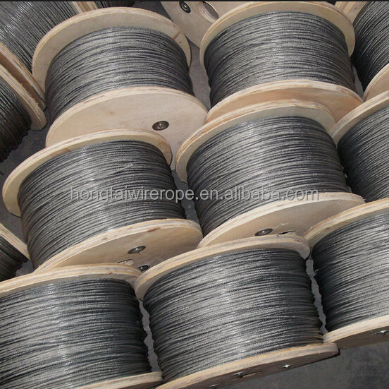 stainless steel wire rope for cableway AISI316 20mm