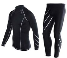 Compression Thermal Wear Track Suits / Training Jogging wear / gym Fitness Track suits men