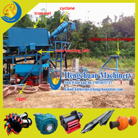 Chinese Small Cuter Suction Gold River Pond Dredging Equipment