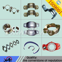 Custom steel sand casting oil field pipe clamp,pipe fittings,OEM service
