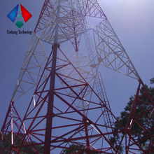 Direct From Factory 60m Self Supporting 4 Legged Tubular Radio Broadcasting Steel Tower