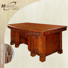 Luxury wooden office table executive ceo desk office desk