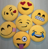 Free sample wholesale emoji pillow whatsapp