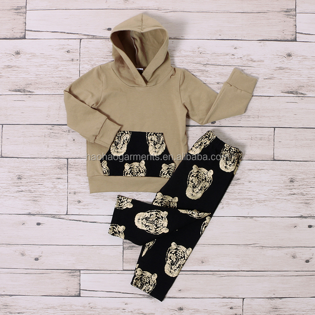 Cheap Wholesale Boutique Infant Toddler Clothing Long Sleeve Newborn Baby Clothes Sets for Boys