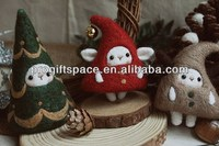 2016 Hot new bestselling product wholesale alibaba Eco friendly handmade felt christmas tree plush toy in bulk made in China