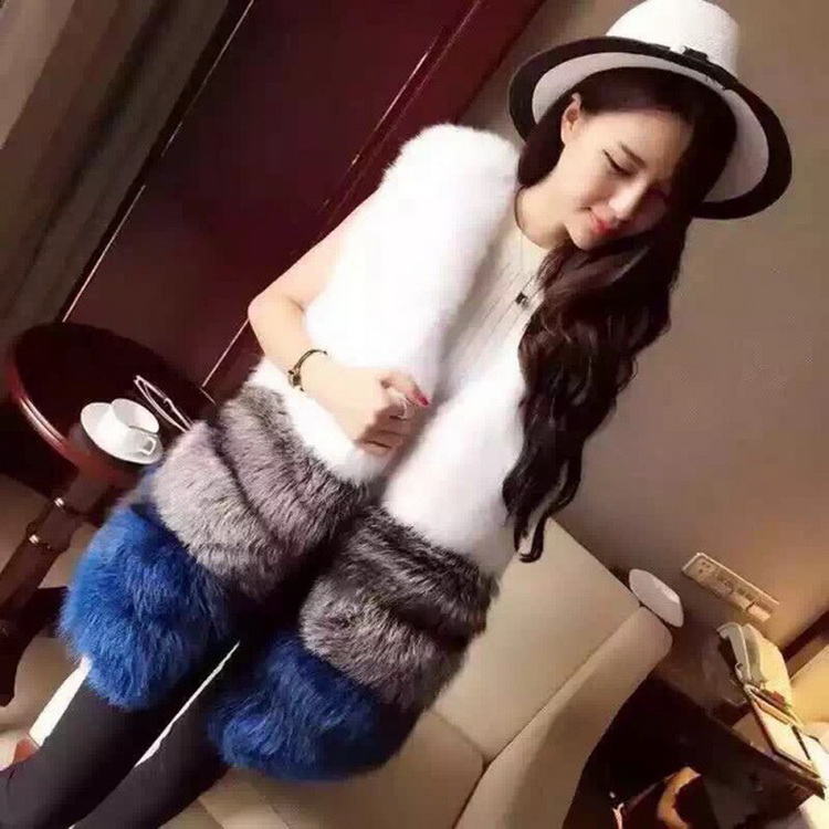 2016 new pattern design wholesale lady mink lady fur coat