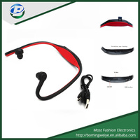 Good quality bluetooth headset with fm radio usb card reader mp3 mp4
