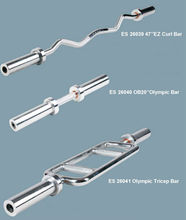 Newdesign silver steel weight lifting bar olympic regular barbell