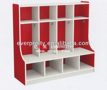 Preschool furniture bookshelves designs wooden wood - Mueble para guardar juguetes ...