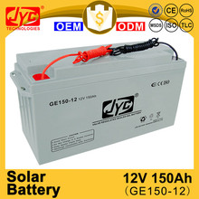 excellent quality 150ah 12v solar battery prices in pakistan