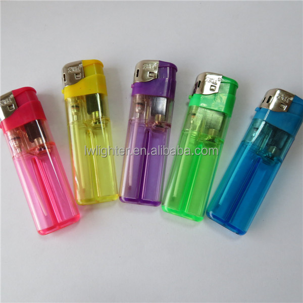 Wholesale Factory Da Shuang Yuan Hotsale Cheap 8.2cm Electronic Lighter