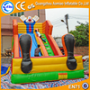 Clown giant inflatable slide, professional king inflatable water slide for sale