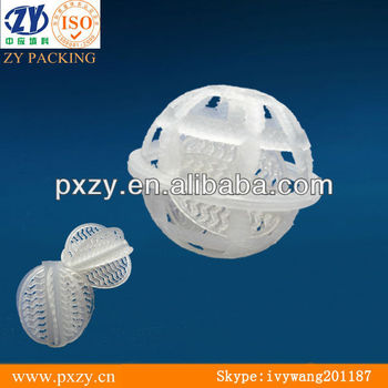 good quality,plastic cage ball ,for water treatment