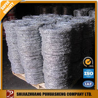 Barbed wire for fence and garden with ISO certificate shop online