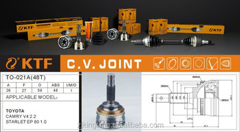 TO-021 OUTER C.V JOINT for toyota