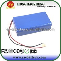 China alibaba Top selling High drain rechargeable 7.2v li-ion battery pack