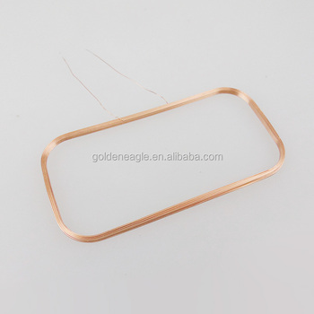 0.2mm Enameled Copper Wire Air Coil Inductor Usded in IC card system application