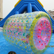 Human Size Kids Inflatable Water Roller Ball The Newest Floating Water Pool Ball For Sale