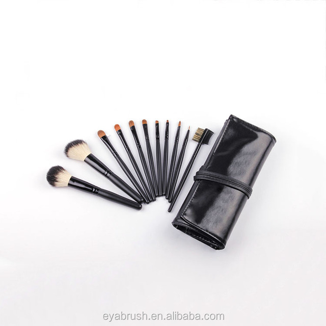 Pro art beauty care tools and equipment cosmetics makeup brushes set with cosmetic bag