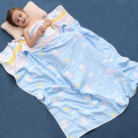 Muslin baby swaddle blankets 100% cotton baby blanket